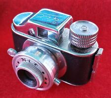 Vintage  Mini Camera ' HIT ' With Case Made in Japan
