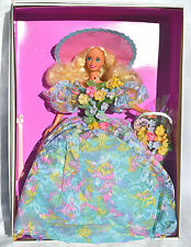 SPRING BOUQUET Barbie doll NRFB, beautiful gown, Enchanted Seasons Timeless Coll