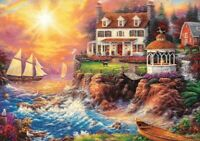 1000 Pieces Jigsaw Puzzle Peaceful Haven By Chuck Pinson - Brand New & Sealed
