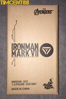 Ready! Hot Toys MMS500D27 Avengers Iron Man Mark VII 7 Diecast Tony Normal 1/6