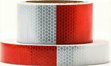 New listing Heavy Duty Reflector Tape Waterproof Car Trailer Safety Warning Lights White Red