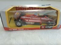 BURAGO 1:24 SCALE RACING INDY TEAM WITH BOX / 6122