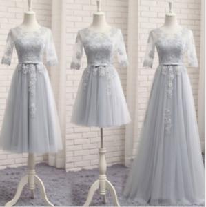 Women Long/medium/short Bridesmaid Dress Evening Formal Dresses Homecoming Dress