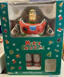 Toy Story - Tokyo Resort Disney Toy Story Buzz Merry Christmas. RARE 💥