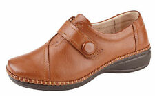 Synthetic Leather Extra Wide (EEE) Heel Shoes for Women