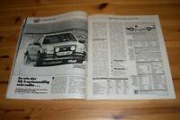 Autozeitung 13704) Der macht Spaß! Ford Escort RS 1600i mit 115PS im TEST auf