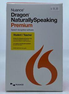 Nuance Dragon Naturally Speaking Premium V13 Student/Teacher Edition (ID Req'd)