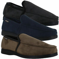 Mens Goodyear Eden Soft Warm Memory Foam Backed Slippers Sizes 7 to 12