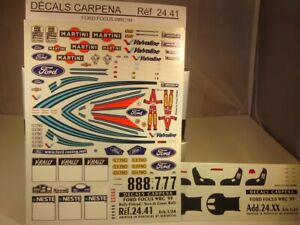 DECALS 1/24 FORD FOCUS WRC 1999 PART 5 RALLYE FINLANDE / TDC - COLORADO  2441