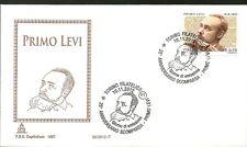 ITALIA BUSTA CAPITOLIUM 2012 PRIMO LEVI   ANNULLO SPECIALE TORINO FDC
