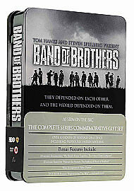 Band of Brothers 6 Disc DVD Boxset, Steel Case, Sealed