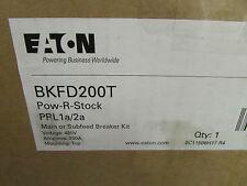 Eaton BKFD200T Main Subfed Breaker Kit PRL1a/2a 200 amp 3 pole 600 vac