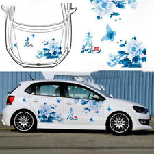 Graphics Vinyl Flower Butterfly Car Sticker Hood Decal For Ford Focus Honda Fit