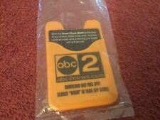 ABC News Channel 2 Advertising Smart Phone Wallet Card Holder
