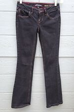 VOLCOM BRAND JEANS FOR WOMEN SIZE 1 BOOT CUT BLACK PRE-OWNED