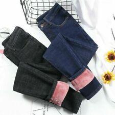 Jeans jeggings sans marque pour femme