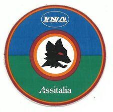 CALCIO - ROMA - ADESIVO-STICKER - INA ASSITALIA - Lupetto Romanista*