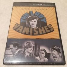 Brand New Sealed The Lady Vanishes (DVD, 1998, Criterion Collection)