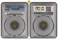 Suisse /Helvetia/switzerland/10 Rappen 1875 B Rare Pcgs XF45