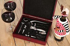 Vinoterra vin outils accessoires ouvre-bouteille tire-bouchon connoisseur ensemble cadeau