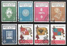Ordre de Malte - Sovrano Militare Ordine di Malta - 8 timbres oblitérés