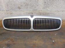 Jaguar XJ X308 1997-2003 Bonnet Front Grill Gril + Badge Silver MDX