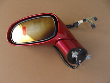 05-13 C6 Corvette Power Side Mirror LH Driver Magnetic Red 122016