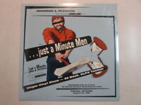THE INCREDIBLE MINUTEMEN LIVE...JUST A MINUTE MEN 1990 LP SEALED MEGA RARE OOP
