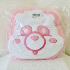 AAA Panda Face Cushion Pink 28 cm Toreba Japan