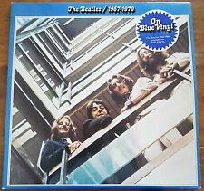 Vintage The Beatles / 1967-1970 Blue Album on Blue Vinyl PCSP718 Record LP