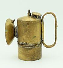 12cms MINERS LAMP BALDWIN 1913 CARBIDE SUPERINTENDENT USA VINTAGE LANTERN N16