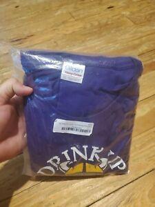 Smack Apparel Mens Minnesota Vikings Long Sleeve T Shirt 3XL Drink Up Skol On