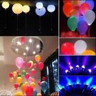 12/LED Light Paper Lantern Waterproof Balloon Floral for Wedding Xmas Decoration