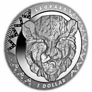 The Big Five 2019 The Leopard Cupro Nickel Coin
