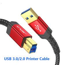 Cable Usb Para Impresora Usb Tipo B macho a macho Cable USB 3.0 2.0 Escáner