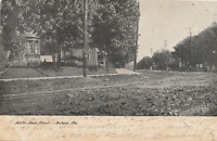 VINTAGE POSTCARD NORTH MAIN STREET DUBOIS PENNSYLVANIA 1906 SEE NOTE