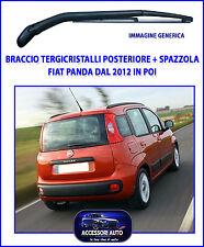 Braccio Tergicristallo posteriore per Fiat Panda dal 2012 in poi + Spazzola auto