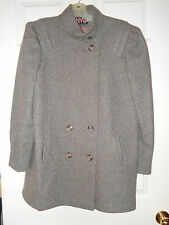 Ladies Gray Winter Coat  ~  size M ~ by NYG  New York Girl ~ made in the USA