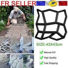 Chemin maker Pavage Moule Béton Pavage Pavé réutilisable ciment Bricolage Patio