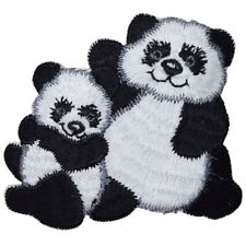 "Panda Applique Patch - Giant Panda, Cub, Bear, Sichuan, China 2.75"" (Iron on)"