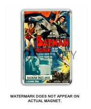 RETRO SERIAL BATMAN CINEMA  POSTER - JUMBO FRIDGE /LOCKER MAGNET