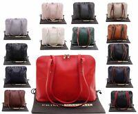 Italian Soft Leather, Large Unsstructured Long  Handled Shoulder Bag Handbag