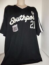 NWT South Pole Southpole Jersey shirt #21 All Crew XL Black and silver since 91