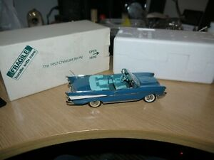 Danbury Mint 1957 Chevrolet Bel Air convertible Model car