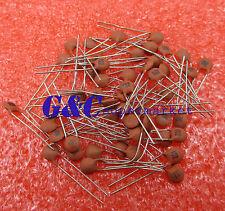 1000Pcs 102pF 1000pF 1nF 50V 102 Dip Ceramic Disc Capacitors Top