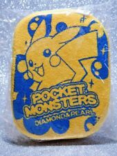 Pokemon Figure - 2010 Pikachu D&P Plush Sponge - Nintendo Japan Banpresto