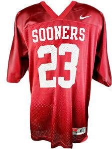Oklahoma Sooners NCAA Football Jersey Crimson 23