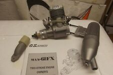 NEW  OS MAX FX 61 RC AIRPLANE ENGINE + MUFFLER EXHAUST  FREE SHIPPING