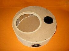 Reserveradgehäuse, MDF-Roh für 25cm Subwoofer, Größe M
