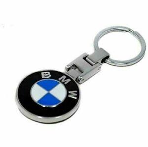 BMW Chrome Keyring Key Chain BMW Accessories Key Fob Ring Elegant Design